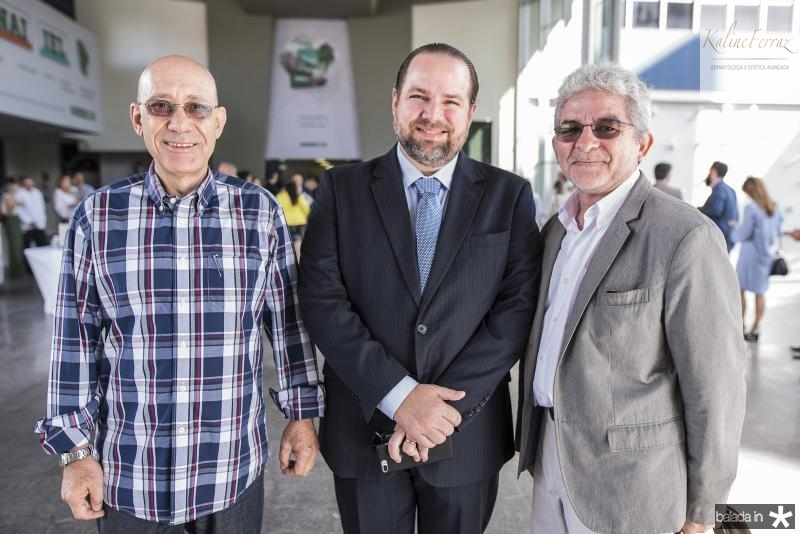 Jorge Coelho, Manoel Fontenele e Analio Rodrigues