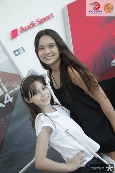 Maria Isabel e Maria Eduarda Lima