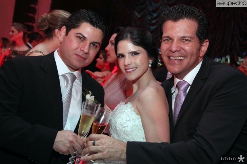 Pompeu Vasconcelos, Marilia Quintao e Gustavo Serpa