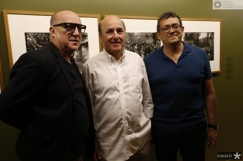 Diogenes Moura, Silvio Frota e Jose Guedes