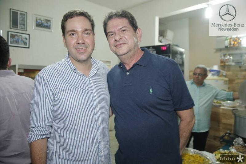 Eduardo Bismarck e Cid Gomes