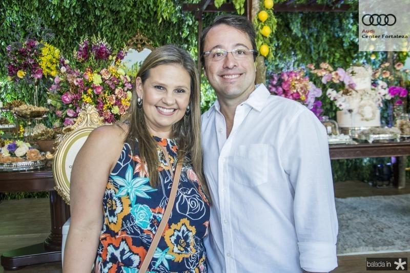 Silvana e Andrea Carvalho