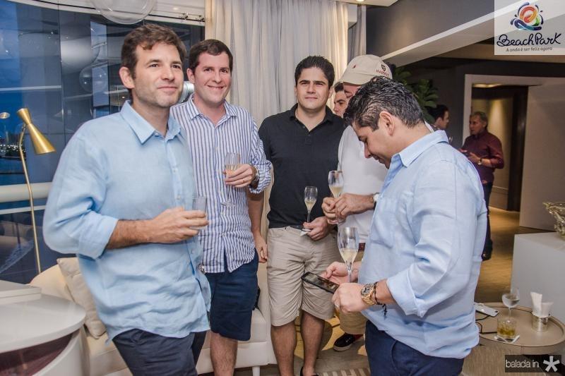 Germano Franck, Rodrigo Carneiro, Anderson Quintao e Pompeu Vasconcelos