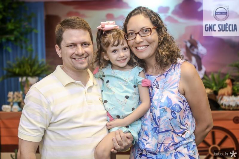 Hemerson, Gabriela e Carla Freitas