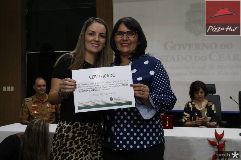 Raquel Vasconcelos e Gecilda Gomes