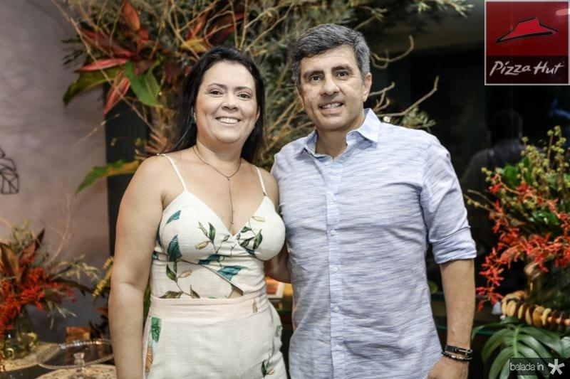 Tatiana e Silveber Castro