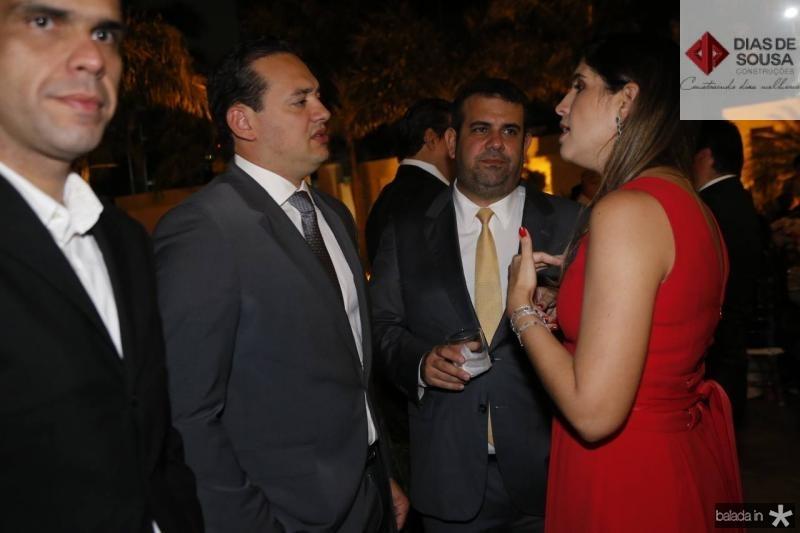 Danniel Oliveira, Claudio Camara e Luana Oliveira
