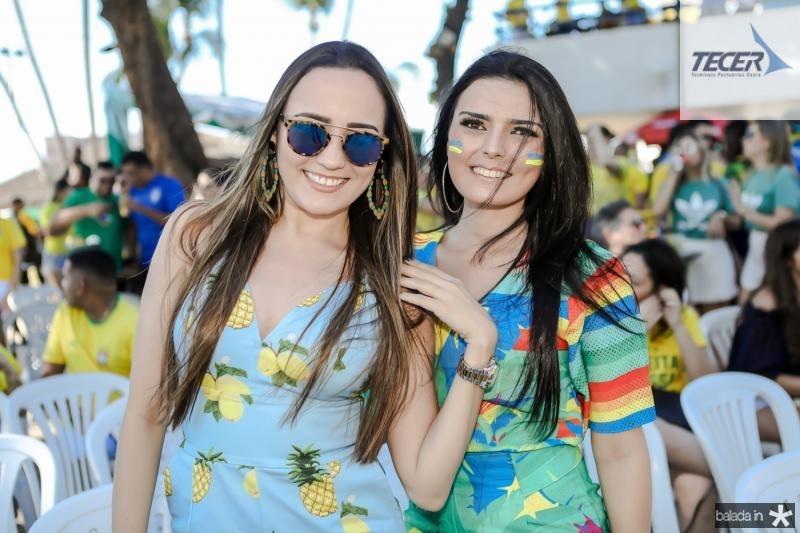 Charlene Menezes e Clessia Ximenes