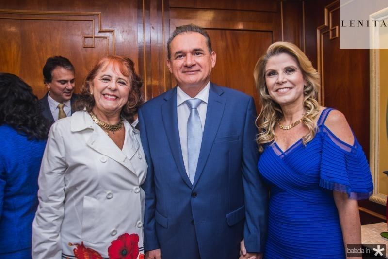 Fatima Duarte, Washington Araujo e Rosangela de Francesco