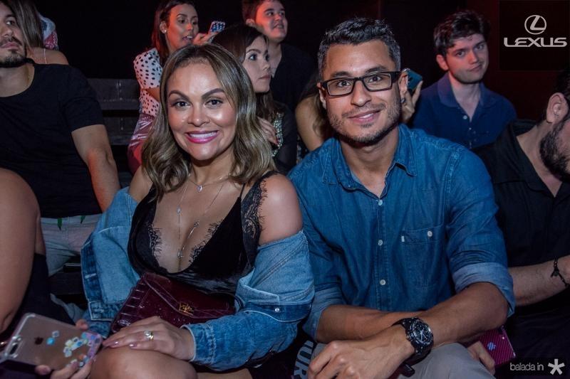 Samira Show e Isaac Dantas