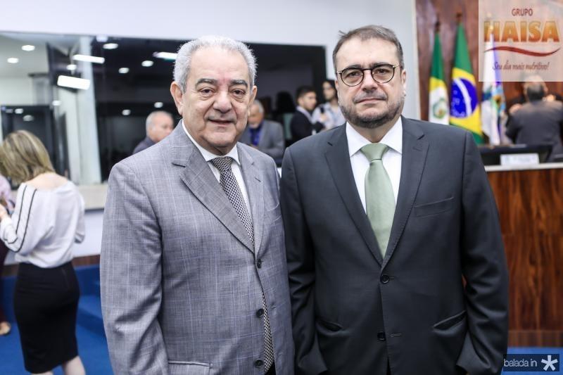 Adail Fontenele e Jose Leite