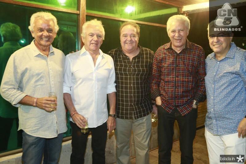 Galba e Candido Couto, Chiquinho Aragao, Franze Moraes e PC Noroes