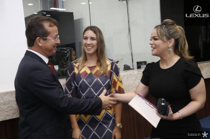 Eulojo Neto, Larissa Gaspar e Keliane Benevides