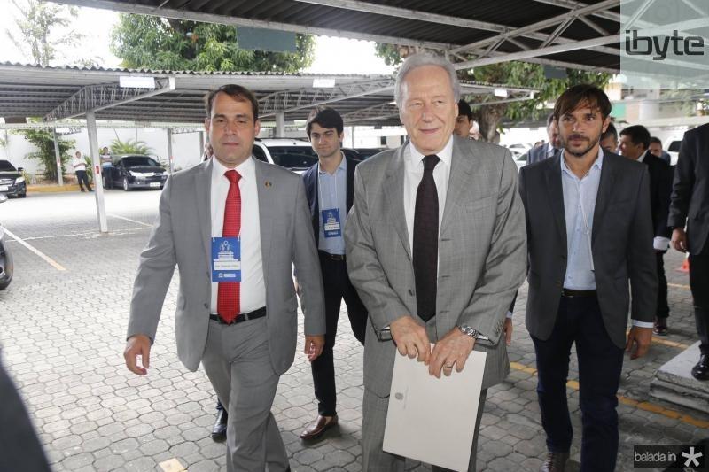 Salmito Filho, Pedro Gomes de Matos, Ricardo Lewandowiski e Guilherme Sampaio