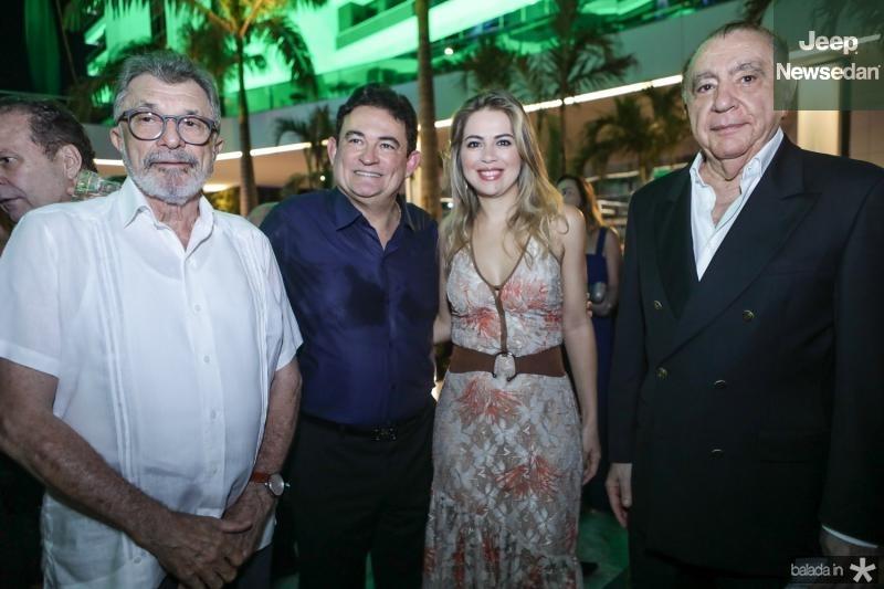 Eudoro Santana, Fernando Santana, Onelia Leite e Valder Ary