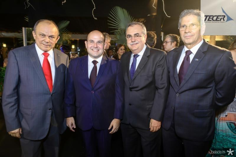 Honorio Pinheiro, Roberto Claudio, Assis Cavalcante e Ramalho Neto