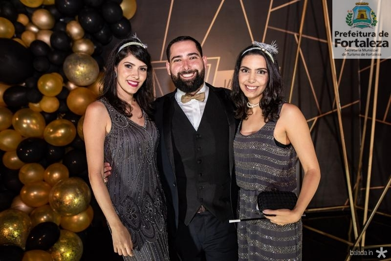 Flavia Simoes, Luiz Victor Torres e Carla LAprovitera