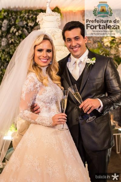 Lohana Fontenele  e Daniell Rios