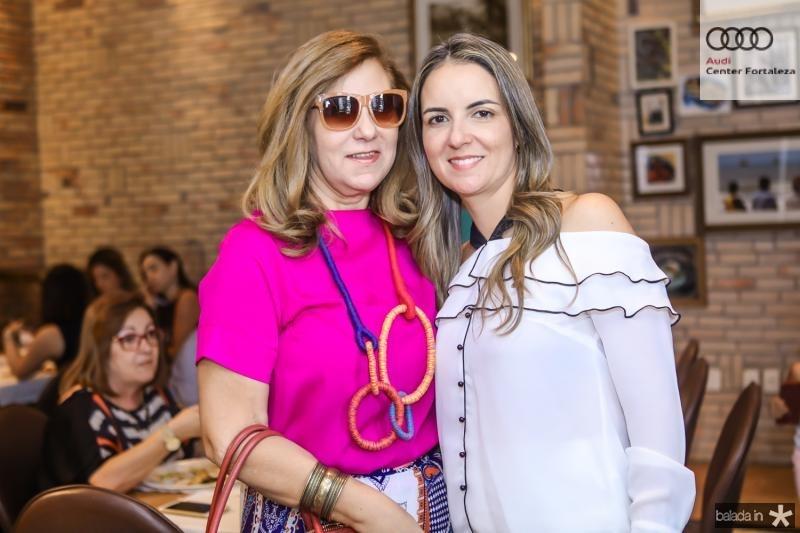 Joria Araripe e Raquel Vasconcelos