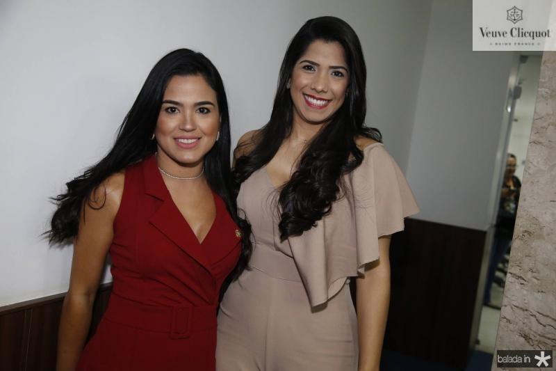 Liana Sa e Yorrana Araujo