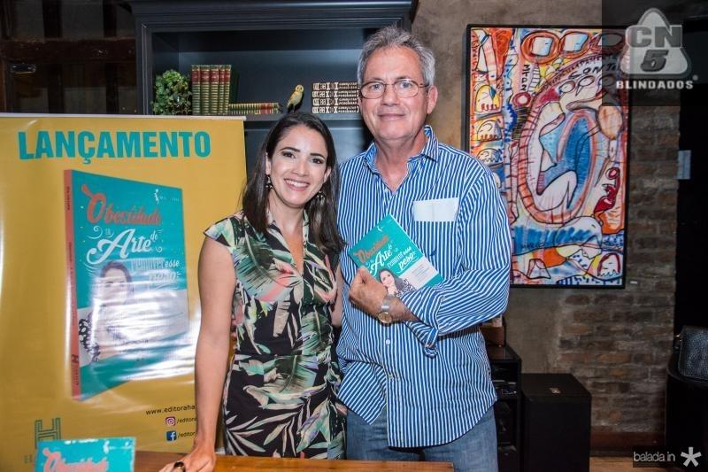 Lia Lima e Glauber Araujo