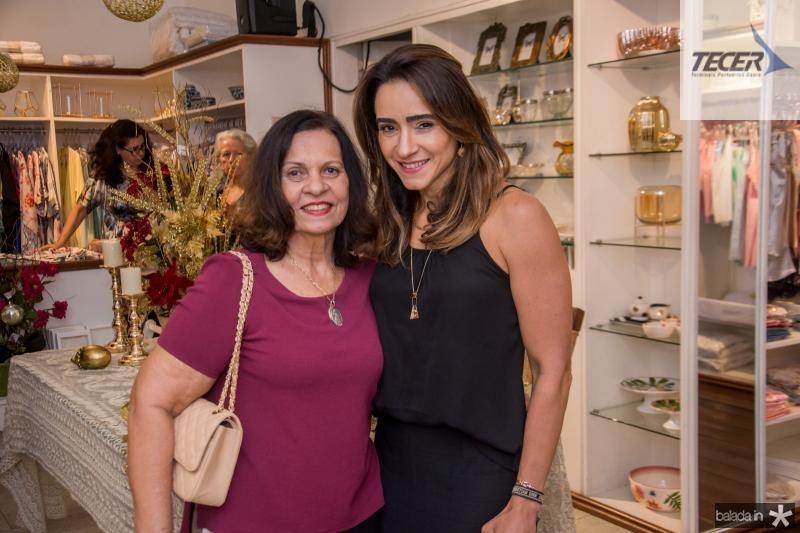 Lissia Brasil e Camila Quindere