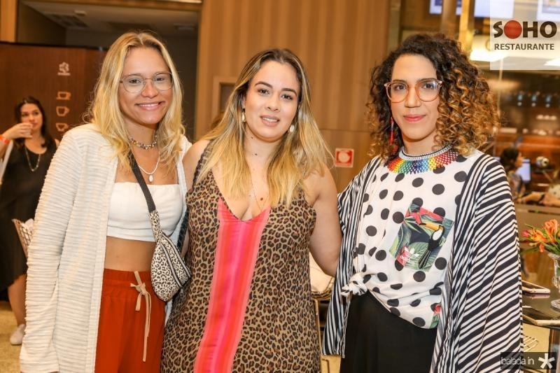 Suellen Lira, Lidia Correia e Lucas Santiago