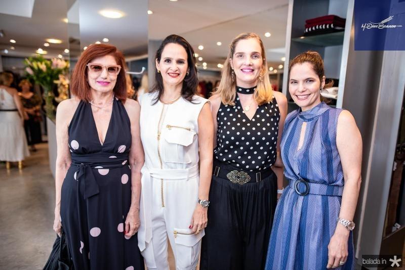 Anabela Evangelista, Adriana Miranda, Malu Miranda e Cristiana Miranda