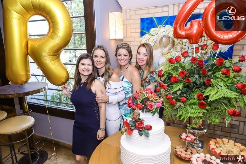 Ticiana Brigido, Raquel Vasconcelos, Tataiana Luna e Marina Vale