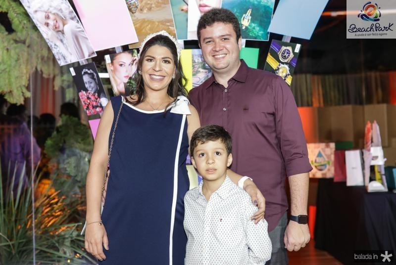 Izabelly, Antunes e Luis Eduardo Brito