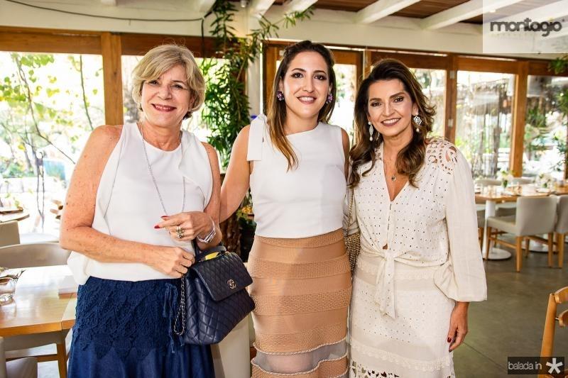 Stella Rolim,  Mariel Pontes e Marcia Travessoni