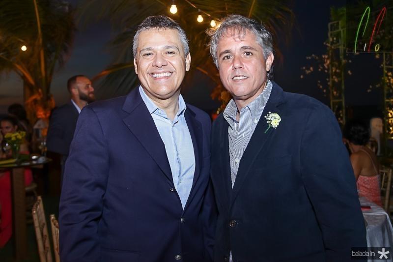 Vitior Leal e Eduardo Brandao