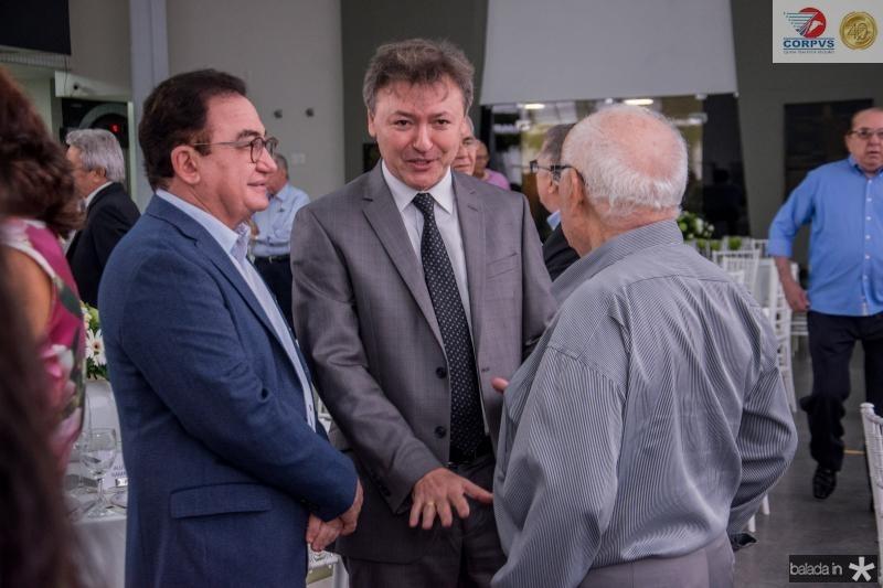 Manoel Linhares, Mauricio Filizola e Ubiratan Aguiar