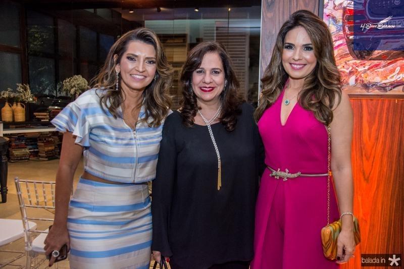 Marcia Travessoni, Martinha Assuncao e Eveline Fujita