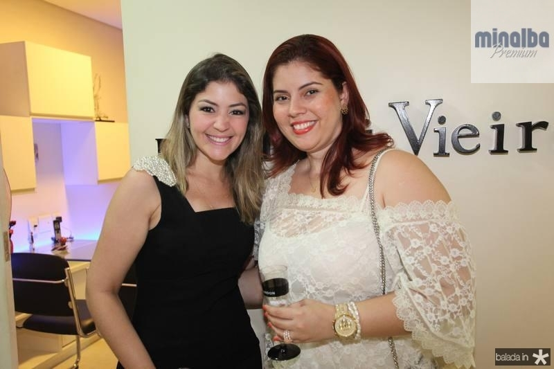 Vanessa Queiroz e Michelle Vidal