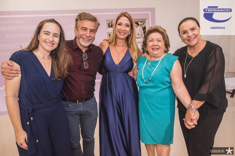 Bia Fiuza, Eugenio Pontes, Daniela Holanda, Mana Holanda e Beatriz Fiuza