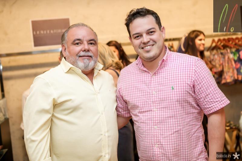 Pedro Carapeba e Iuri Azevedo