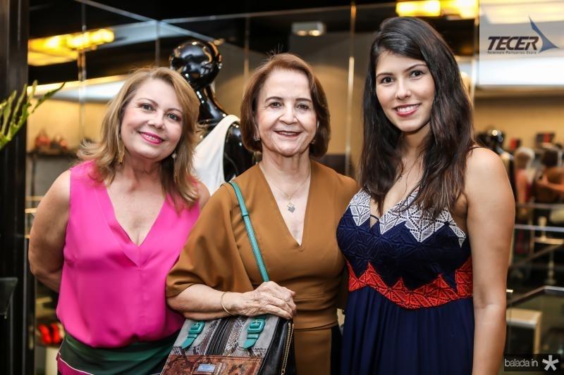 Ines Cals, Lenita Negrao e Flavia Simoes