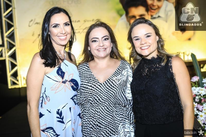 Gabriela Morais, Andrea Coelho e Marcela Carvalho