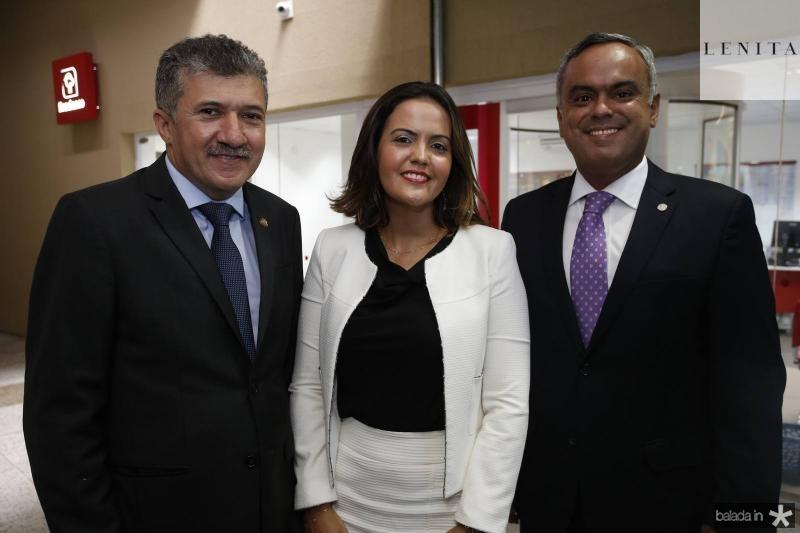 Antonio Henrique, Joyce de Oliveira e Marcelo Mota