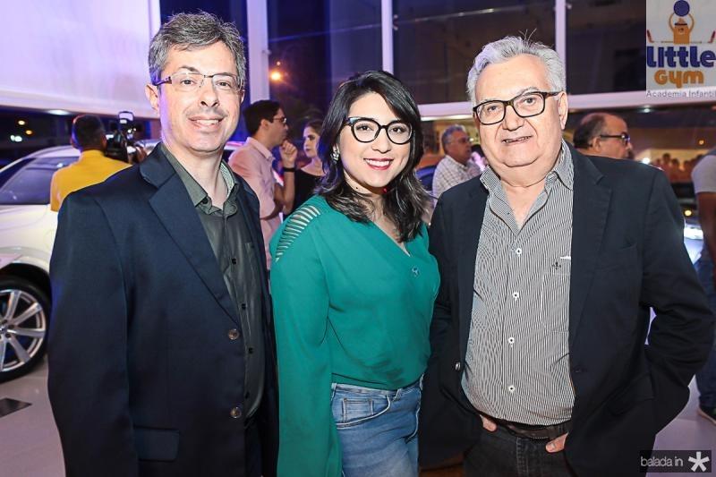 Andre Marinho, Juliana Amaral e Marcondes Viana