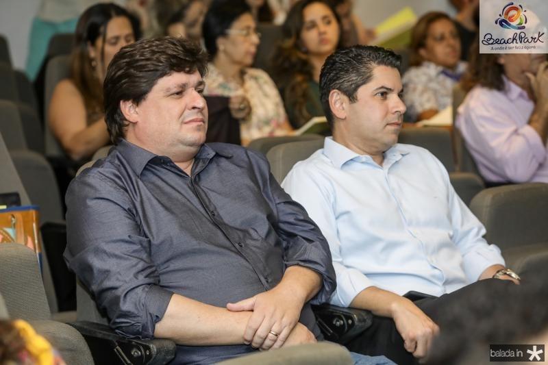 George Lima e Pompeu Vasconcelos