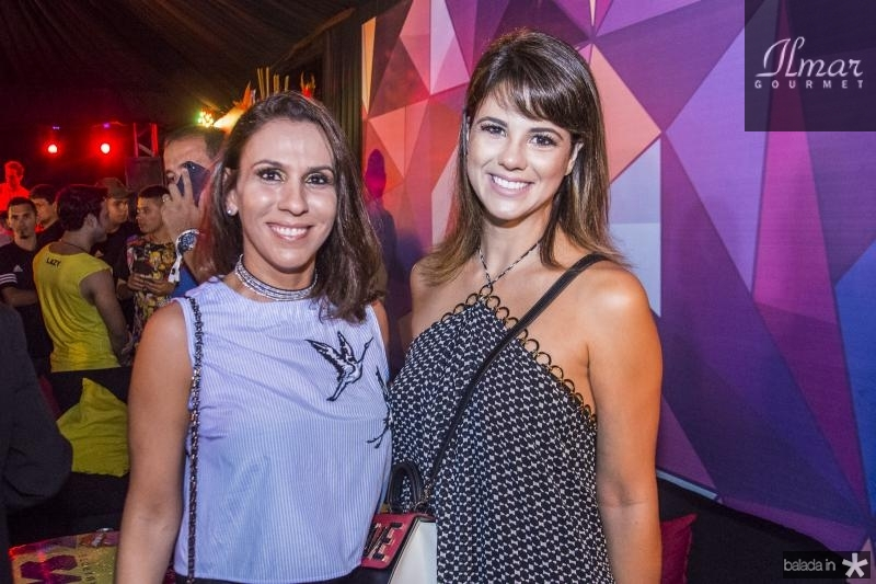 Samara Fernandes e Juliana Roma