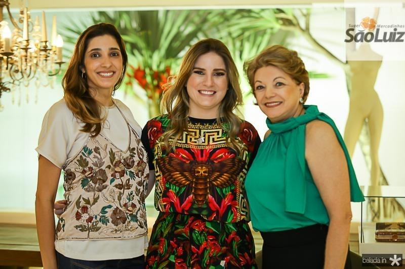 Catarina Cavalcante, Maria Clara Dalolio e Cassandra Cavalcante
