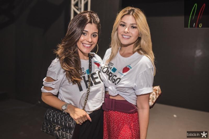 Monica Pinto e Natasha Brigido