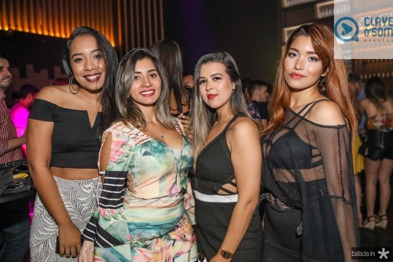 Rebeca Linhares, Nivia Isabel, Tais Monteiro e Cassia Maia