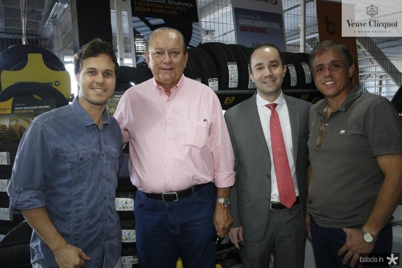 Joao Gurgel, Rafael Leal, Yuri Rocha e Eduardo Brandao