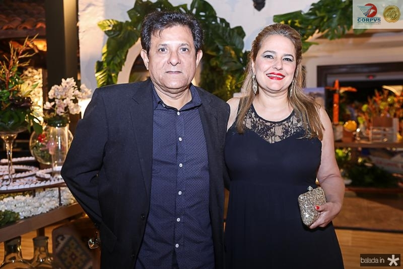 Aurilio e Mariana Franca