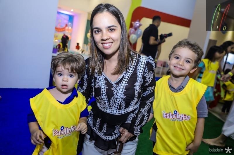 Guilherme, Natalia e Roberto Machado