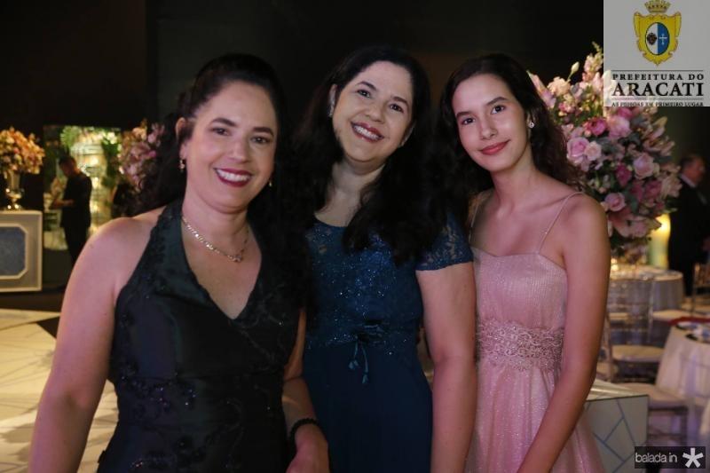 Kerly, Micheline e Mariana Andrade